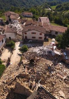 Miền Trung Italy hoang tàn sau thảm họa động đất