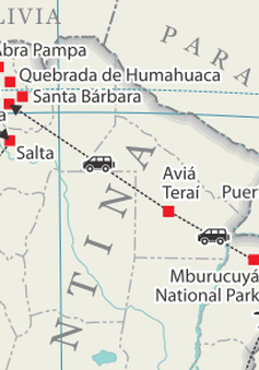Động đất mạnh làm rung chuyển miền Bắc Argentina