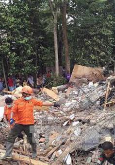 Thương vong trong trận động đất tại Indonesia tiếp tục tăng