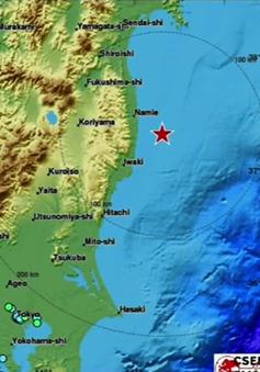 Động đất 7,4 độ Richter rung chuyển Nhật Bản, 5 người bị thương