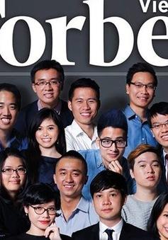 Forbes Việt Nam công bố 30 gương mặt dưới 30 tuổi nổi bật 2016