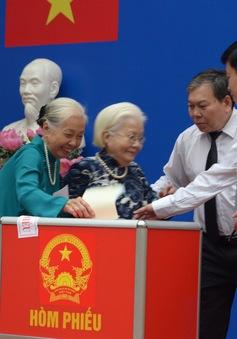 Tỷ lệ cử tri bầu cử trên cả nước đã đạt hơn 70%
