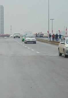 Thông xe tuyến đường vành đai 2 Nhật Tân - Cầu Giấy
