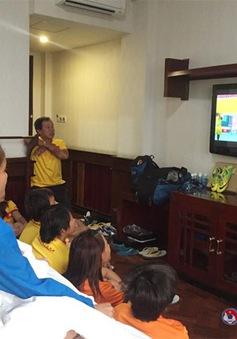 ĐT nữ Việt Nam họp đấu pháp, tự tin trước trận chung kết gặp Thái Lan