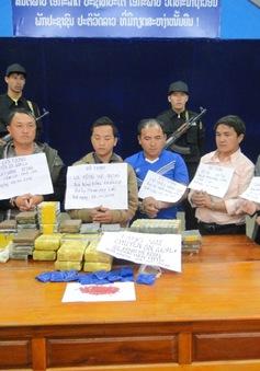 Phá đường dây ma túy xuyên quốc gia, thu giữ 91 bánh heroin