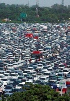 Ấn Độ cấm lưu thông gần 200.000 xe