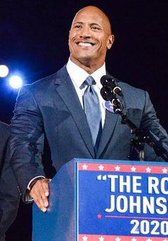 """""""Vua bọ cạp"""" The Rock muốn tranh cử Tổng thống"""