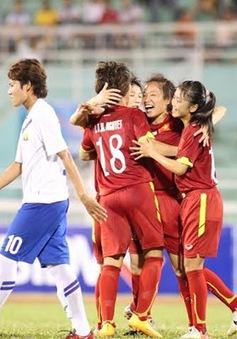 ĐT nữ Việt Nam - ĐT nữ Myanmar: Cận kề cánh cửa chung kết (18h30, 2/8)