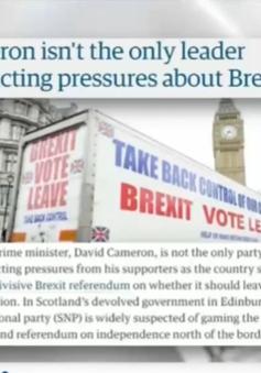 Tờ báo Đức đặt cược 10.000 Bảng cho Anh ở lại EU