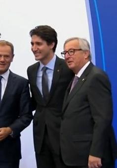 Liên minh châu Âu và Canada chính thức ký Hiệp định Thương mại tự do