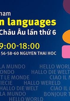 Ngày ngôn ngữ châu Âu lần thứ 6 tại Hà Nội