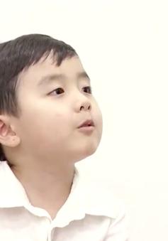 Thần đồng piano Evan Lê trổ tài hát Diễm xưa