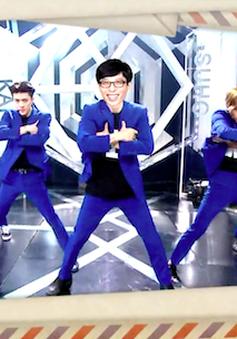 """""""Thánh quẩy"""" Running Man Yoo Jae Suk """"gia nhập"""" EXO trong MV mới"""
