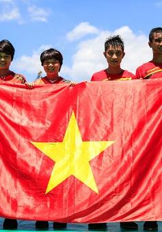 ABG 2016: Đá cầu đem về 2 HCV cho Đoàn Việt Nam trong sáng 27/9