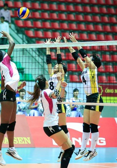 VTV Cup 2016 – Tôn Hoa Sen: Chonburi (Thái Lan) giành quyền vào bán kết với 5 trận toàn thắng
