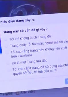 Thiếu cơ chế quản lý các trang Facebook giả mạo