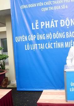 TP.HCM phát động ủng hộ đồng bào lũ lụt miền Trung
