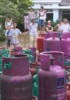 TT-Huế: Hiểm họa cháy nổ tại các cơ sở kinh doanh gas trong khu dân cư