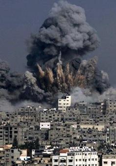 Israel không kích Dải Gaza đáp trả vụ bắn rocket