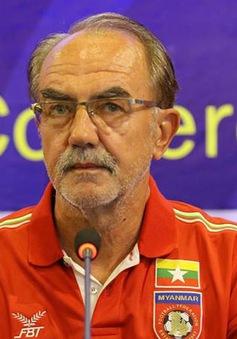 Thua Việt Nam, HLV Myanmar vẫn tự tin giành vé vào bán kết