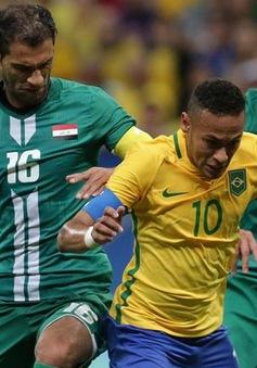 Olympic Rio 2016: Hòa 0-0 Iraq, chủ nhà Brazil nguy cơ bị loại ở vòng bảng