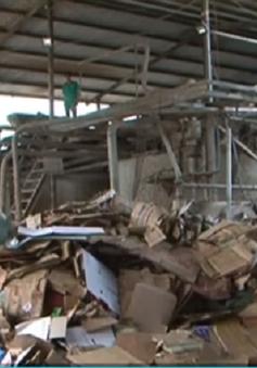Bắt quả tang nhà máy giấy xả nước thải ra môi trường tại Lâm Đồng