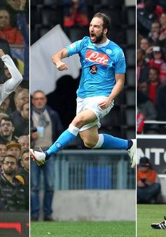Ronaldo thất thế trong cuộc đua giành Chiếc giày Vàng châu Âu
