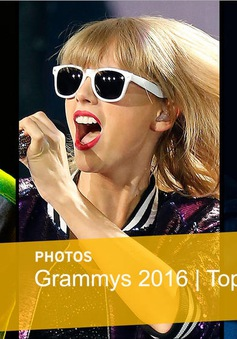 VTV truyền hình trực tiếp lễ trao giải Grammy 2016