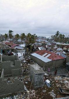 Haiti tan hoang sau siêu bão Matthew
