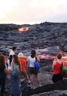 Du lịch nham thạch - Trải nghiệm thót tim tại Hawaii, Mỹ