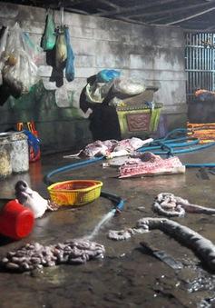 Bắt quả tang 3 cơ sở giết mổ heo lậu tại Đồng Nai