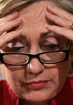 Bà Hillary Clinton gặp rắc rối về sức khỏe