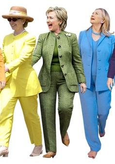 Hillary Clinton - Nữ chính trị gia của xu hướng thời trang