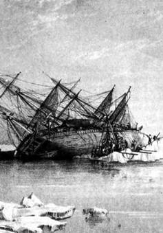 Phát hiện xác tàu thám hiểm HMS Terror sau hàng trăm năm mất tích