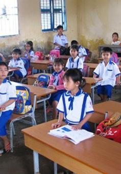 ĐBSCL: Tỷ lệ học sinh vùng hạn đến trường tăng cao