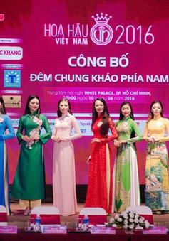 TRỰC TIẾP Chung khảo Hoa hậu Việt Nam 2016 khu vực miền Nam (20h, VTV9)