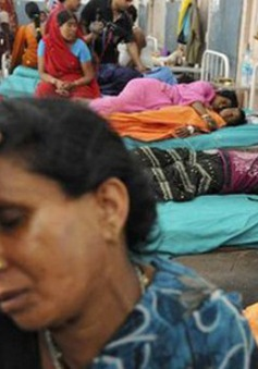 Ấn Độ: 50 người bị ngộ độc vì nước nhiễm bẩn