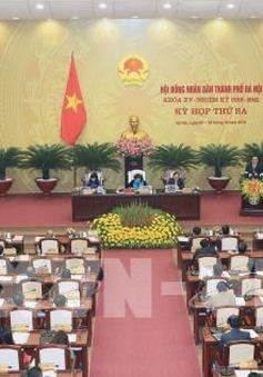 Khai mạc kỳ họp thứ 3 Hội đồng Nhân dân TP Hà Nội khóa XV