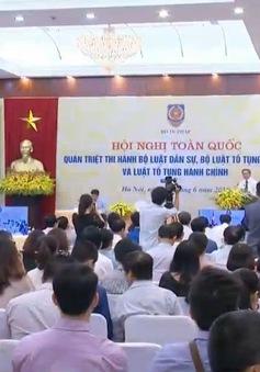 Hội nghị trực tuyến quán triệt ba Bộ luật quan trọng