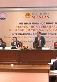 """""""Truyền thông chính sách - Kinh nghiệm Việt Nam và Hàn Quốc"""""""