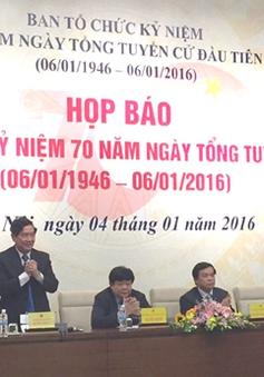 THTT lễ kỷ niệm 70 năm ngày tổng tuyển cử đầu tiên (08h30, 06/01, VTV1)