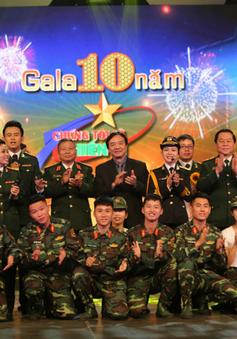 Chúng tôi là chiến sĩ: Ấn tượng với Gala kỷ niệm 10 năm lên sóng