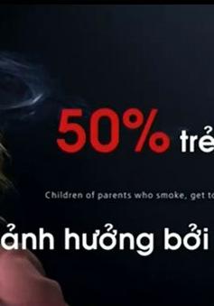 Những quảng cáo ấn tượng khuyến cáo không hút thuốc lá