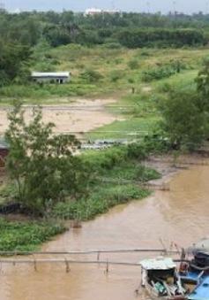 Thi công dự án gây ngập nhà dân tại Hậu Giang