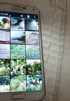 """Galaxy S5 vẫn """"sống nhăn"""" sau 7 tháng dầm mưa"""