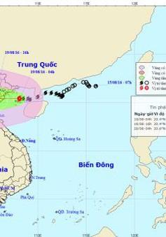Bão số 3 ảnh hưởng trực tiếp đến vùng Đông Bắc Bộ và Bắc Trung Bộ