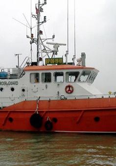 Tàu cá bị đâm vào mạn trên vùng biển Nghệ An