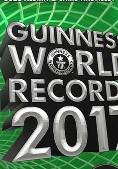 Hôm nay (8/9), sách Kỷ lục Guinness thế giới 2017 ra mắt tại Việt Nam