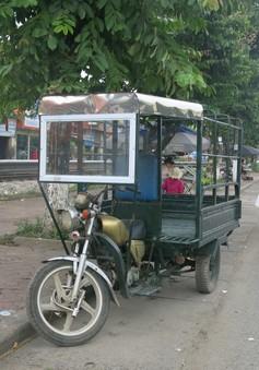CSGT Hà Nội ra quân xử lý triệt để xe ba bánh giả mạo thương binh