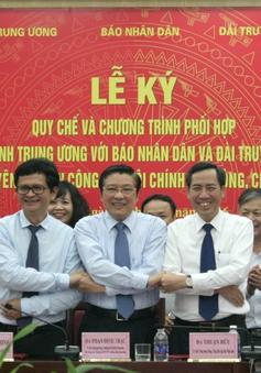 Ban Nội chính TW phối hợp với Đài THVN, báo Nhân Dân tuyên truyền phòng chống tham nhũng